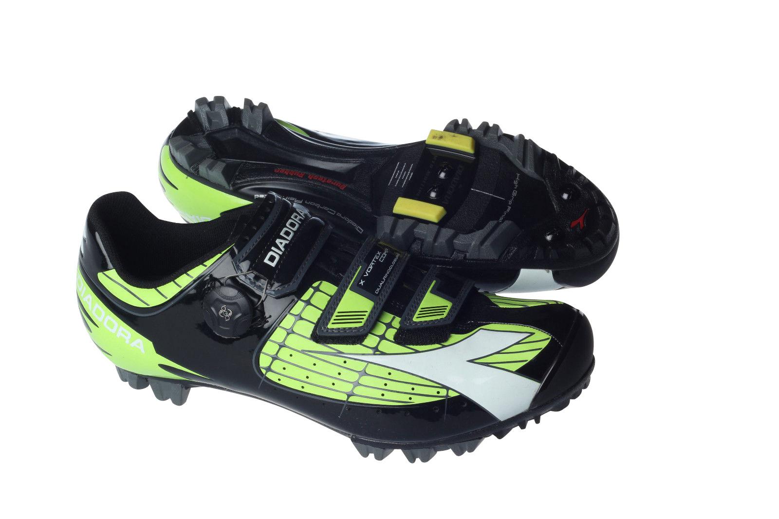 Diadora X Vortex Comp Green Black Shoes - Image 1 c461628e1a2