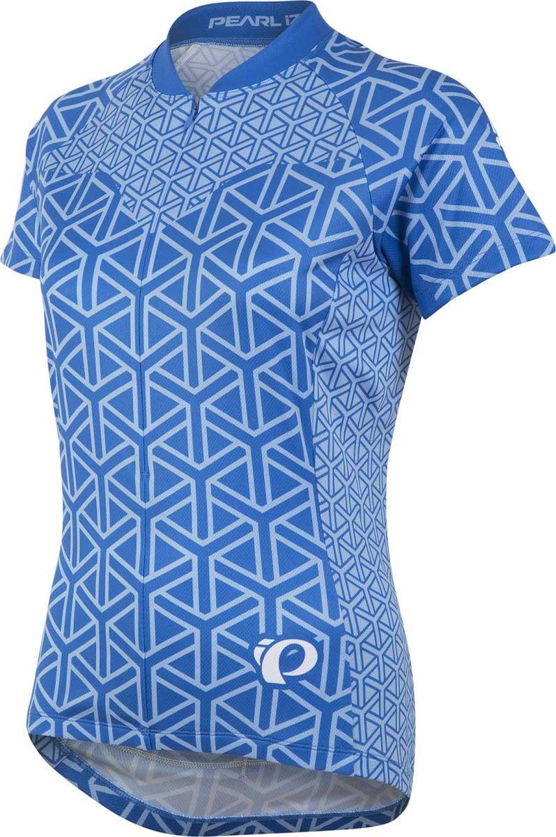 71391ef58 Pearl Izumi Woman SELECT LTD Short Sleeve Jersey GEO SKY BLUE - Image 1